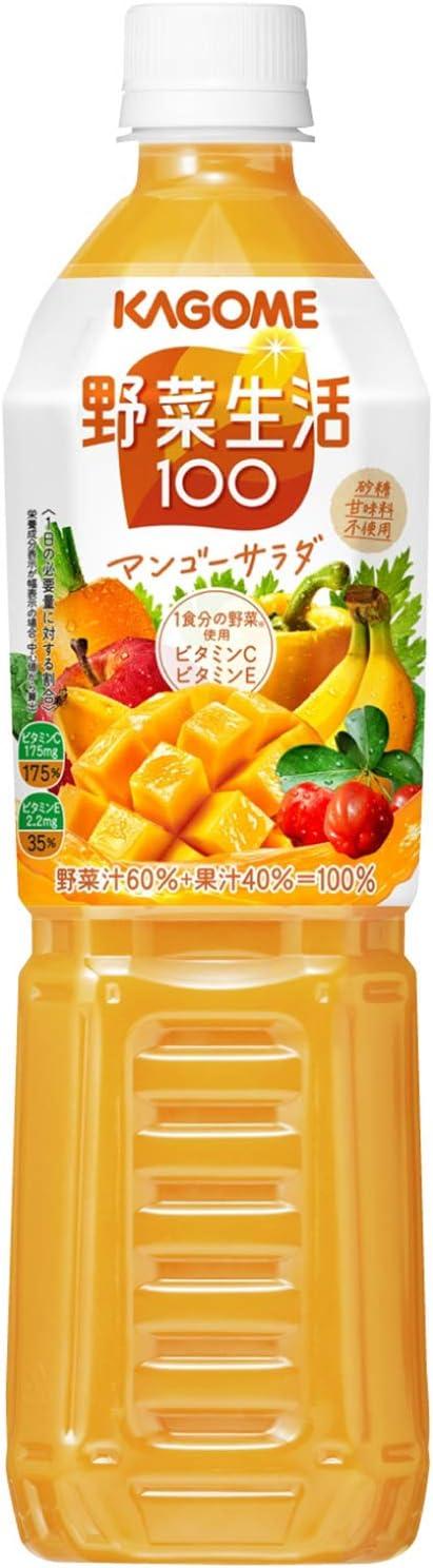 カゴメ 野菜生活100 マンゴーサラダ スマートPET 720ml×15本
