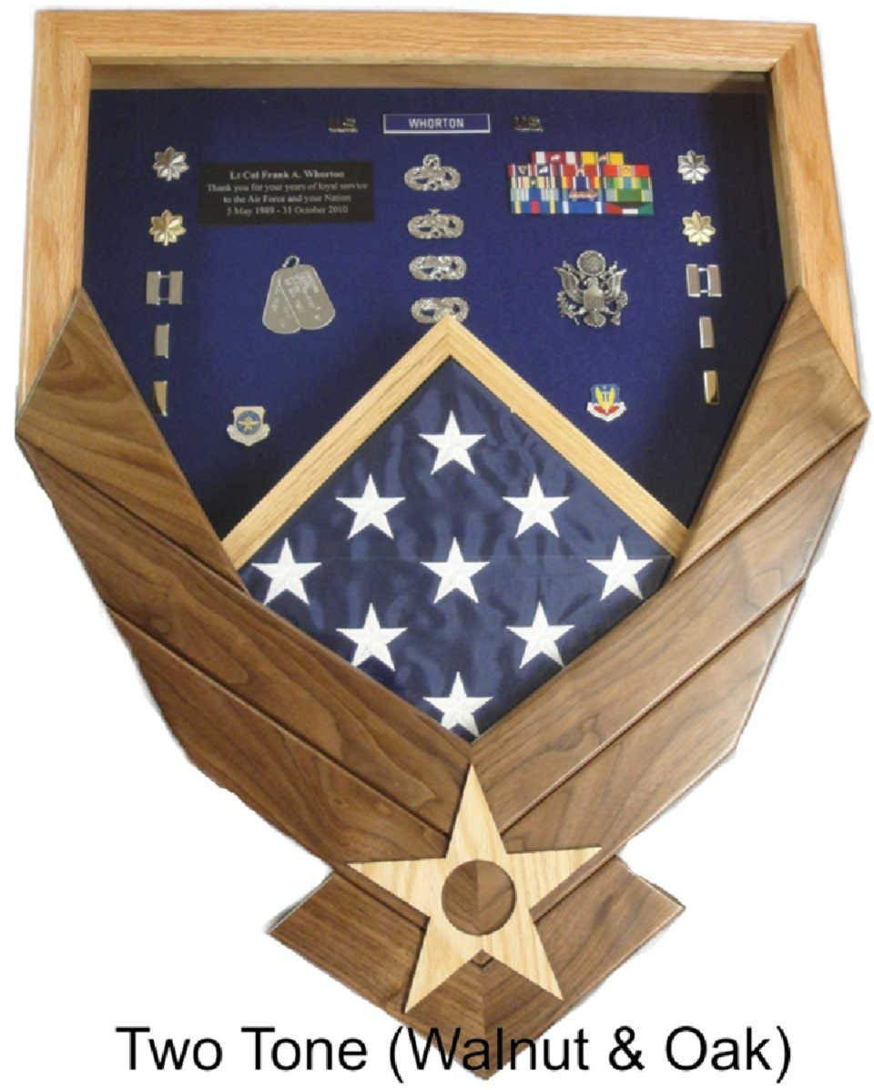Air Force Logo Shadow Box/Retirement Display by Morgan House Woodprojects (Image #1)