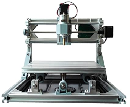 2 in 1 diy cnc 2418 3 axis cnc router kit 5500mw laser engraver rh amazon com