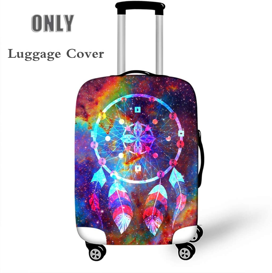 OSVINO Dream Catcher Elastic Washable 18-28 Inches Suitcase Protective Cover Dreamcatcher E M For 22-24 Suitcase