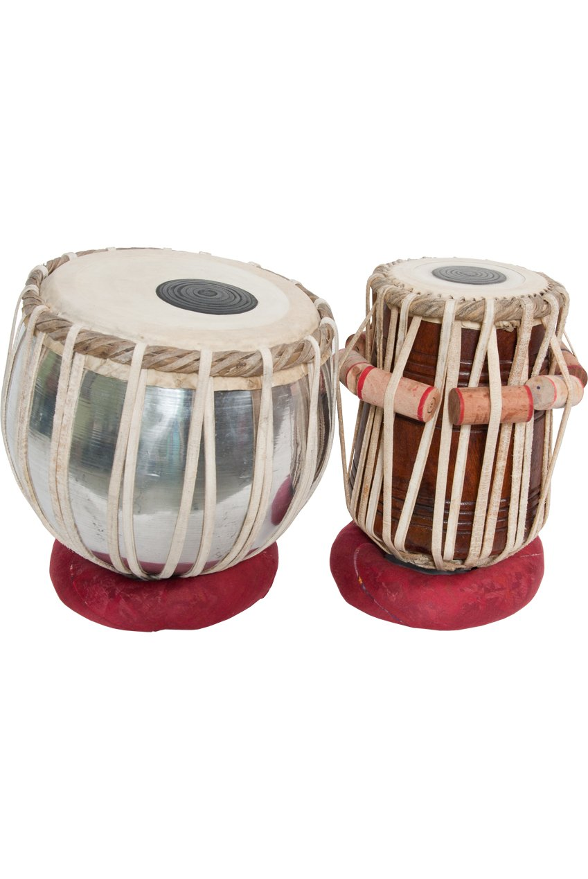 Authentic Indian Tabla Set w/ Case Banjira