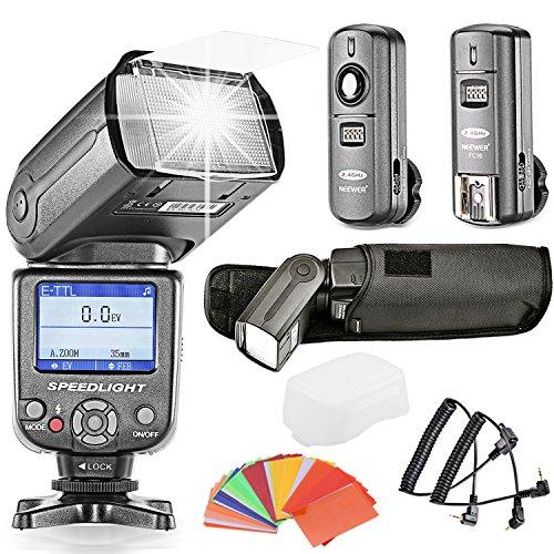 NeewerCOLOR SCREEN Camera Flash Digital Cameras