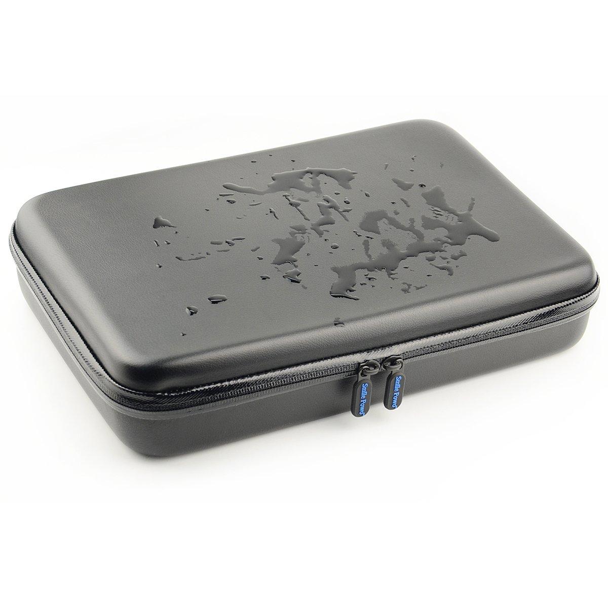SmilePowo Portable Travel Gopro Bag Carrying Case for AKASO EK5000 EK7000 Action Camera Gopro Hero 6, 5, 4, 3+, 3, 2, 1 Accessories and Waterproof