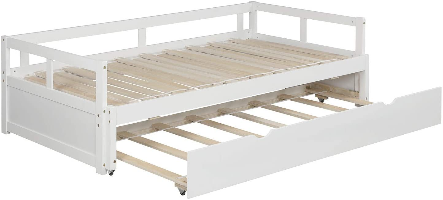 Setting your trundle bed for use