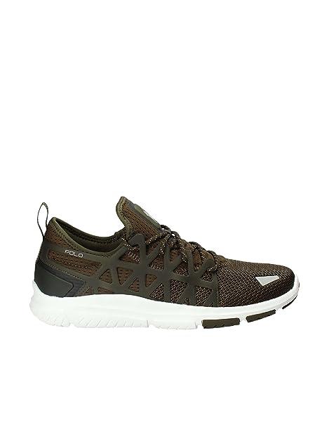 Polo Ralph Lauren 809669842 001 Zapatillas Hombre: Amazon.es: Zapatos y complementos