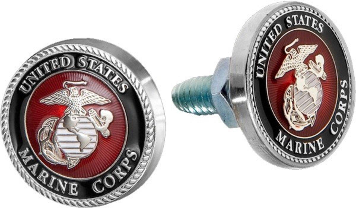 USMC Marines Insignia Nummernschild Schraube Schrauben Set von 2 ...