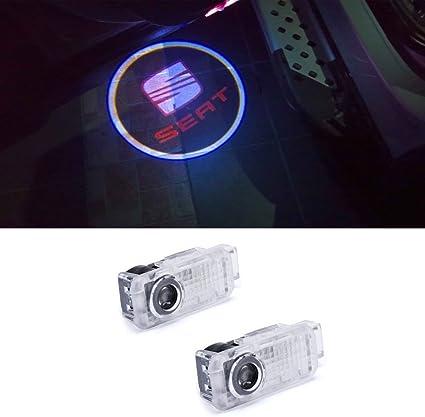 xystar Auto Puerta Logo Puerta, iluminación LED básico: Amazon.es ...