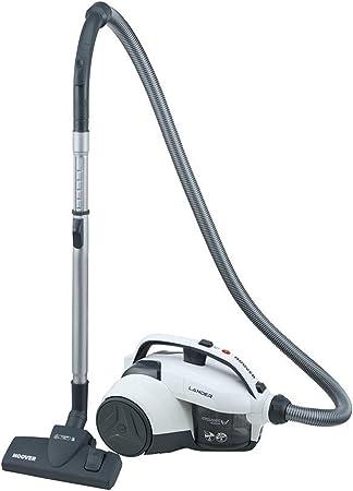 Hoover Lander LA10 Aspirador sin bolsa, Ciclónico, Cepillo para suelos duros y alfombras, polvo, Accesorio rincones, 700 W, 1.2 litros, 78 Decibelios, Plástico, Blanco: Hoover: Amazon.es: Hogar