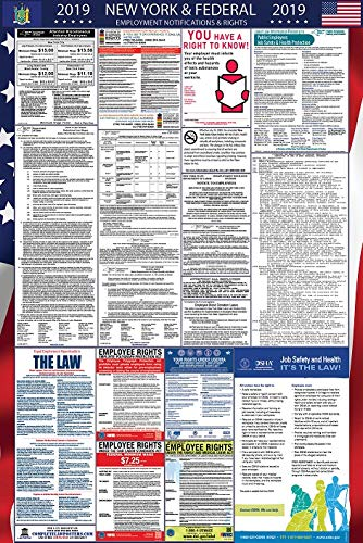 2019 New York and Federal Labor Law Poster by Complete Law Posters