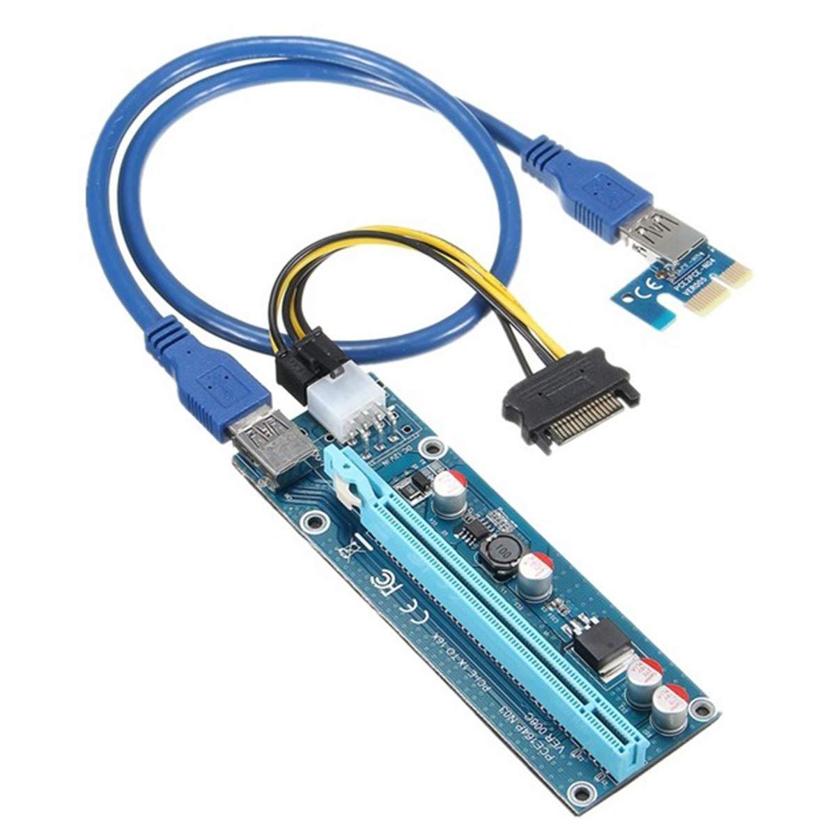 Luxtech Adaptador de Tarjeta Gráfica Cable de Extensión PCIE ...