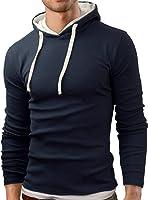Grin&Bear Slim Fit sweat shirt, pull à capuche, GB101