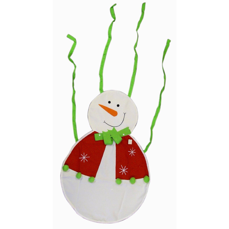 Weihnachts Kinder Schürze - Schneemann