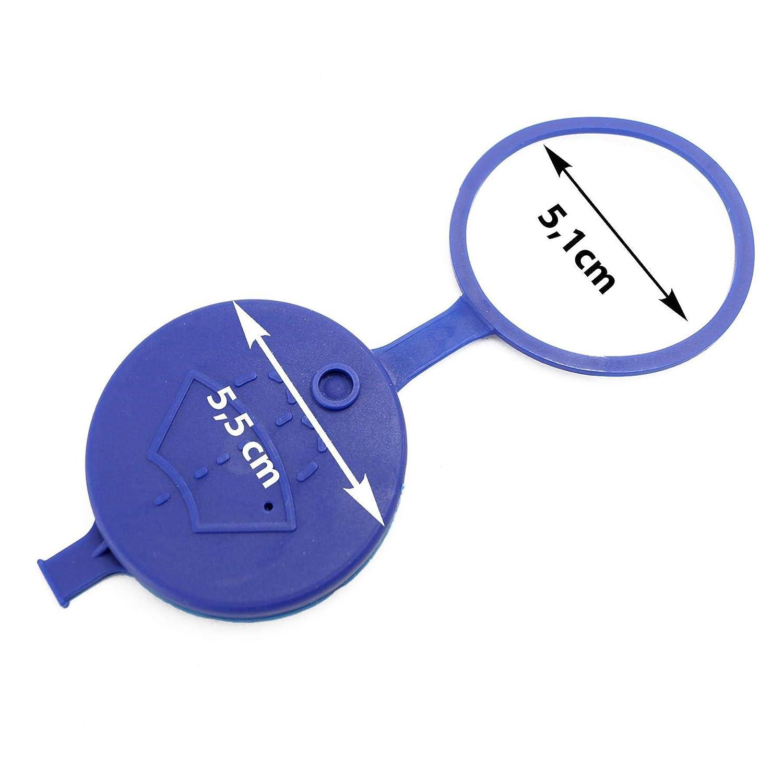 1 x cierre tapa tapa Limpiaparabrisas accesorio Discos de tapa de ...