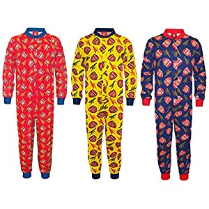 Arsenal Football Club Official Soccer Gift Boys Kids Pajama Onesie