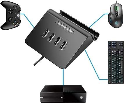 IFYOO® KMAX1 - Adaptador de Teclado y ratón para PS4, Xbox One, PS3, Compatible con PUBG, H1Z1 y Otros Juegos de Disparo