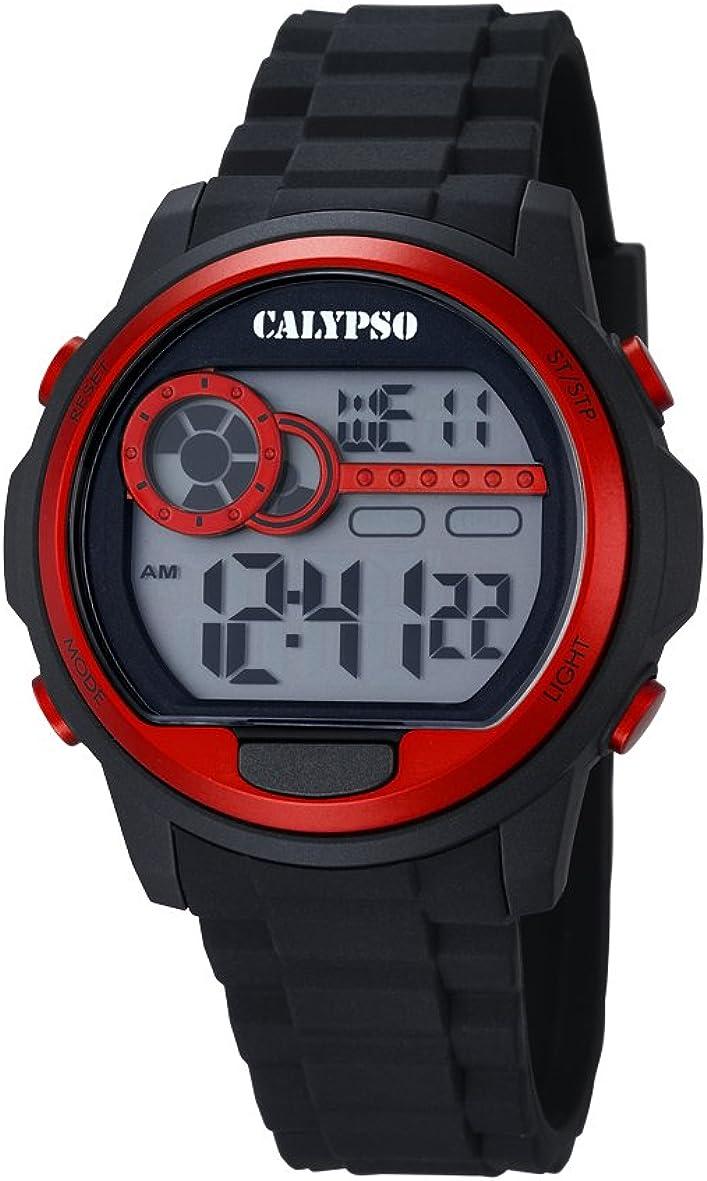 Calypso Watches Reloj Digital para Unisex de Cuarzo con Correa en Caucho K5667_2