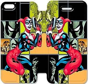 Harley Quinn de encargo del tirón funda Para iPhone funda 5c 5c iPhone Cubierta - HLWELKMEV1711