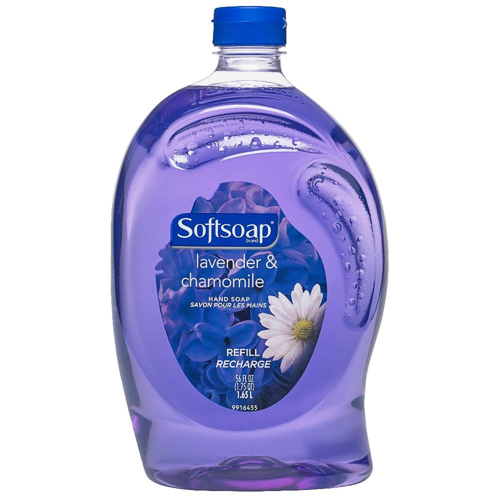 Softsoap Hand Soap Refill, Lavender and Chamomile,1.65 L US04524A