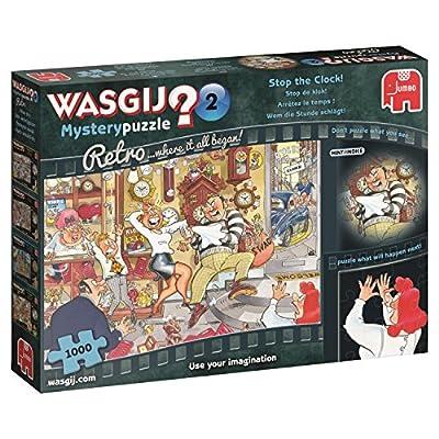 Wasgij 19154 Mistero Retro 2 Stop The Clock Puzzle Da 1000 Pezzi