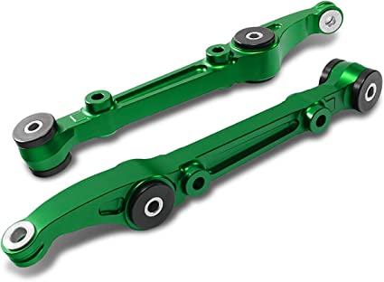 Purple Front Lower Control Arms Pair For Civic 92-95 Integra 94-01 Del Sol 93-97