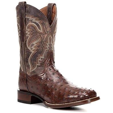 f3124fee7f1 Amazon.com | Men's Dan Post Alamosa Full Quill Cowboy Certified ...