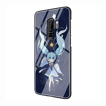 Amazon.com: Carcasa de cristal templado para Samsung Galaxy ...