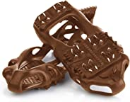 Quadtrek All-Terrain Snow Cleats | Ideal for Snow, Hiking, Trekking and Mud | Compatible with All Shoes, Boots, Sneakers, Sandals and Loafers