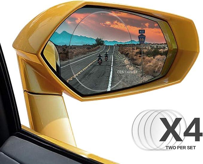 imperm/éable universel de voiture film de protection anti brouillard Antireflet anti-rayures anti-bu/ée R/étroviseur Window film de protection clair 1/paire de voiture R/étroviseur film