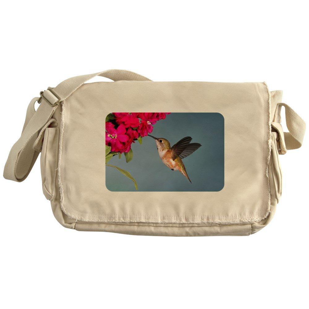 Royal Lion Khaki Messenger Bag Female Rufous Hummingbird