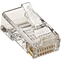 Belkin RJ 45 Connector Plug for Ethernet 10/100/1000 Base T and type 3 UTP Package of 100 PCS