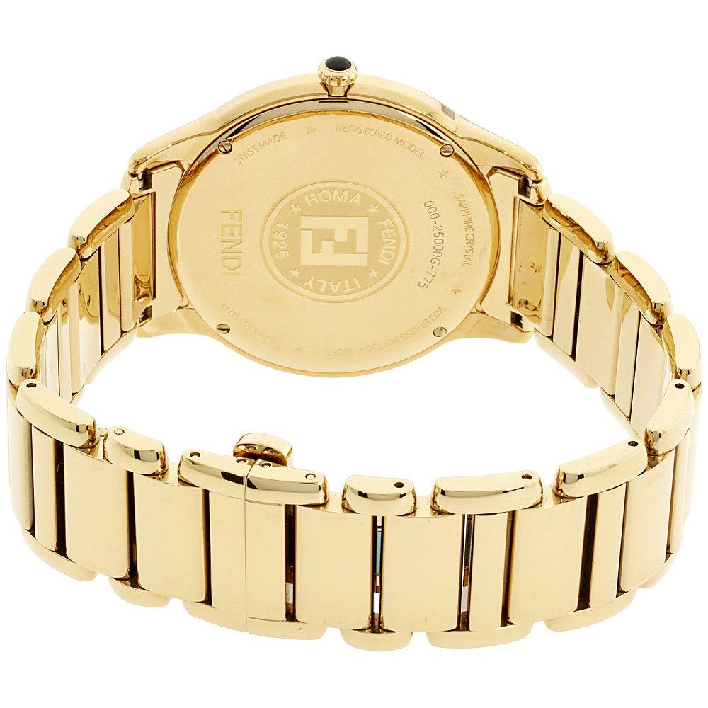 Fendi Mens white dial, stainless-steel bracelet watch F251414000XG (Certified Refurbished) by Fendi (Image #3)