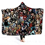 CYHOME Hooded Blanket, Horror Movie Character