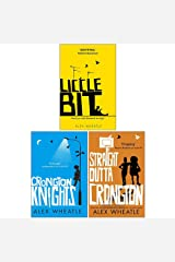 Alex Wheatle Collection 3 Books Set (Liccle Bit, Crongton Knights, Straight Outta Crongton) Paperback