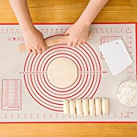 Dust2Oasis Thick Extra Large Pastry Mat with Measurements for Baking