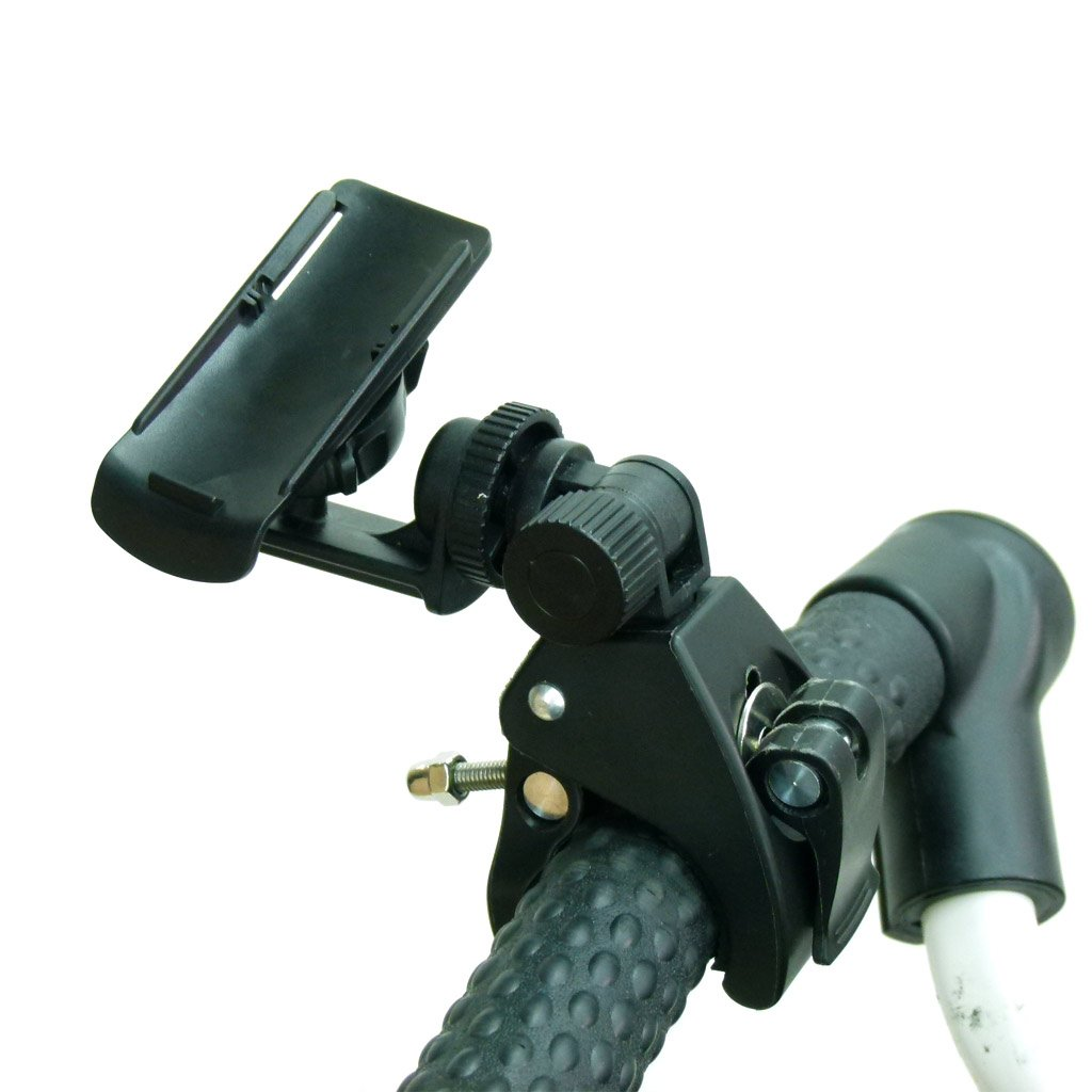 BuyBits Quick Release Multi Position Golf Trolley GPS Holder for Garmin eTrex 20x & eTrex 30x