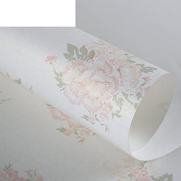 ländliche Vlies-Tapete/Schlafzimmer romantisch rosa Blume ...