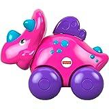 Vehículo de Juguete Fisher-Price Carrito de Dinosaurio Rosa Mattel