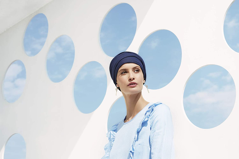 Christine Headwear Turbante Zoya V Blue Denim 1463-662