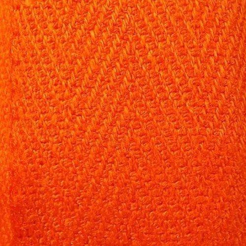 Näharbeiten Binden 20mm x 50m Rolle Kraftz® Baumwollband für Bastelarbeiten Wimpelketten Schürzen Drillich-Borte mit Fischgrätenstich Orange Kraftz/® Baumwollband f/ür Bastelarbeiten N/äharbeiten Kleidern/ähen Kleidernähen