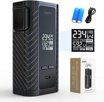 IJOY Captain 234w caja mod Pd270 adaptador 20700 Vape batería, e ...