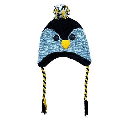 Aquarius Boys Black Owl Critter Style Peruvian Hat