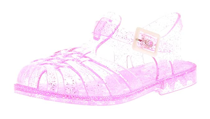 ca30c99de98 Wynsors Jasmine Girls Kids Jelly Sandals Pink - Pink - UK Sizes 4-10   Amazon.co.uk  Shoes   Bags