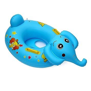 Anillo De Natación , Chickwin Cute Niños Infantil Hinchable De natación Anillo Flotador Asiento Barco Piscina Baño Aeguridad (Elefantes): Amazon.es: ...