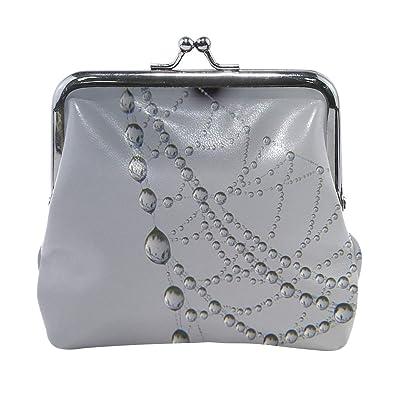 Amazon.com: Rh Studio Monedero monedero cobweb Drops Dew ...