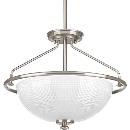 Amazon.com: Progress iluminación 3 – 100 W Medium Base Semi ...