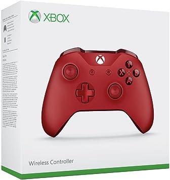 Microsoft - Mando Inalámbrico, Color Rojo (Xbox One), Bluetooth ...