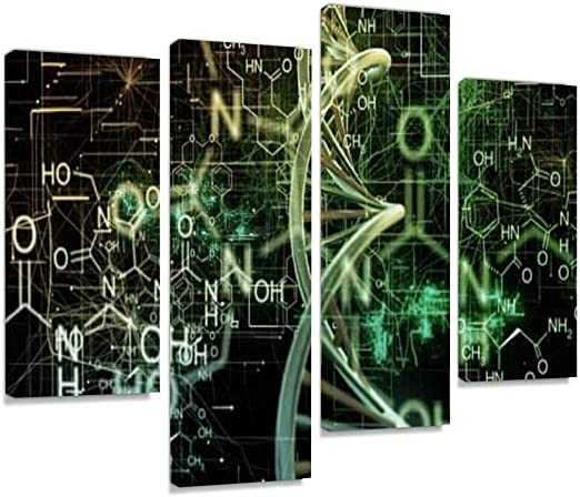 Abstract Pattern Canvas Prints Framed Wall Art Home Office Decor Painting Gift