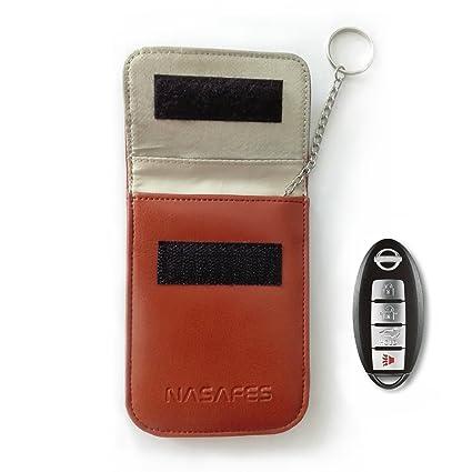 Amazon in: Buy Key Fob holder RFID Signal Blocking Bag