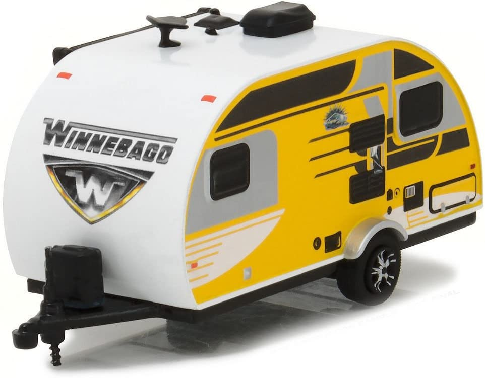 Greenlight 1:64 Hitched Homes Series 1 - 2016 Winnebago Winnie Drop 1710 34010-D DIECAST