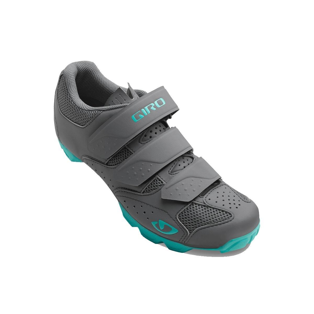 Giro Riela Rii MTB, Zapatos de Bicicleta de Montaña para Mujer 37.5 EU|Multicolor (Dark Shadow/Glacier 000)